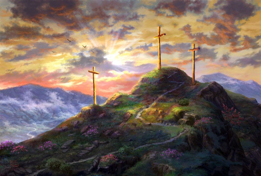 надо крест в картинах художников недвижимость