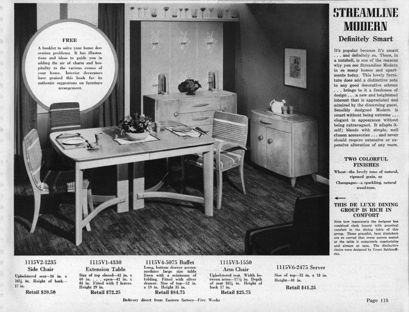 Heywood Wakefield Carson Pirie Scott Better Furniture Catalog P115