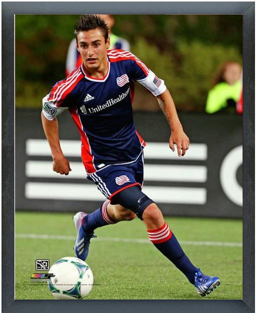 outlet store 22d54 9bd83 Diego Fagundez 2013 New England Revolution -11 x 14 Photo in ...