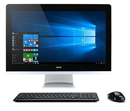 acer aspire aio touch desktop 23 8 full hd touch intel core i5 rh pinterest com au