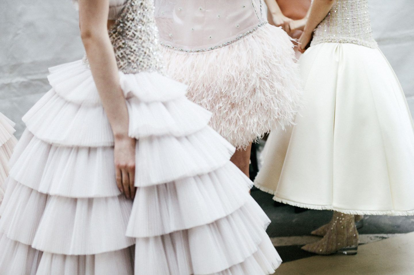 Chanel springsummer haute couture the white files fashion