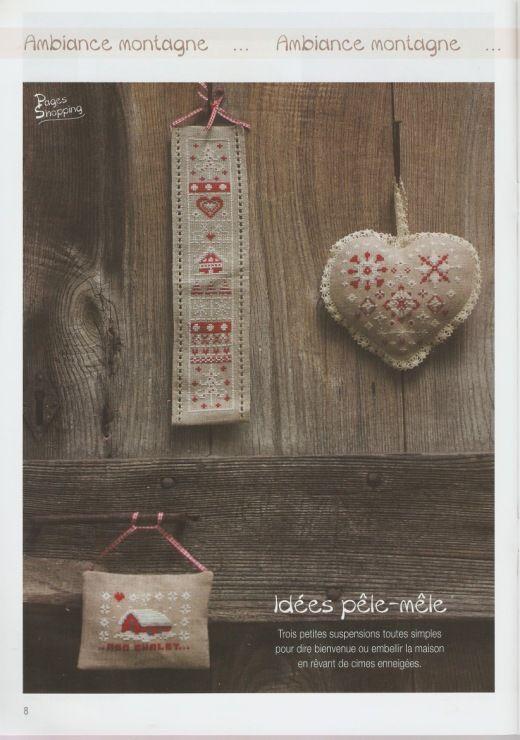 (43) Gallery.ru / Фото #52 - Point de Croix Magazine-N°96-Janvier-Fevrier-2015 - NINULYKA