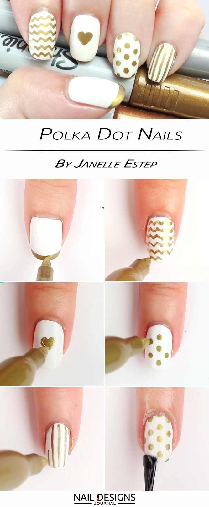 Quick Guide to 15 Stylish Yet Simple | Simple nail designs