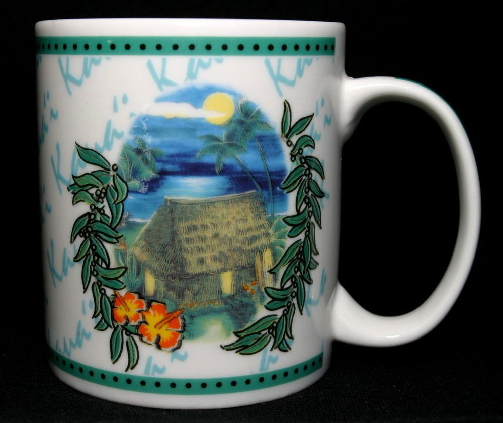 Hilo Hattie 2002 Island Heritage Coffee Mug/Cup