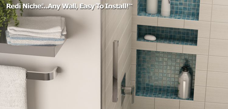 Recessed Shower Niches Built In Shelves Inserts Recessed Shower Shelf Shower Niche Bathroom Niche