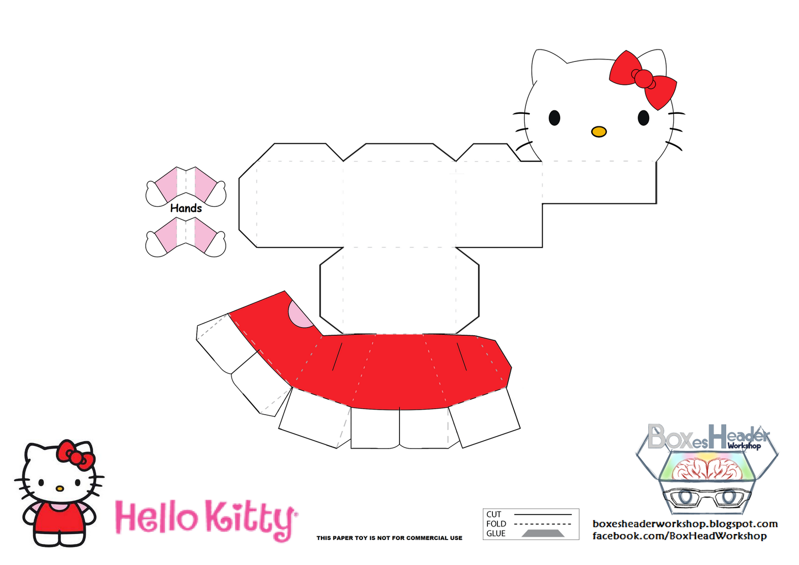 love these hello kitty craft ideas! great for activities for kids at