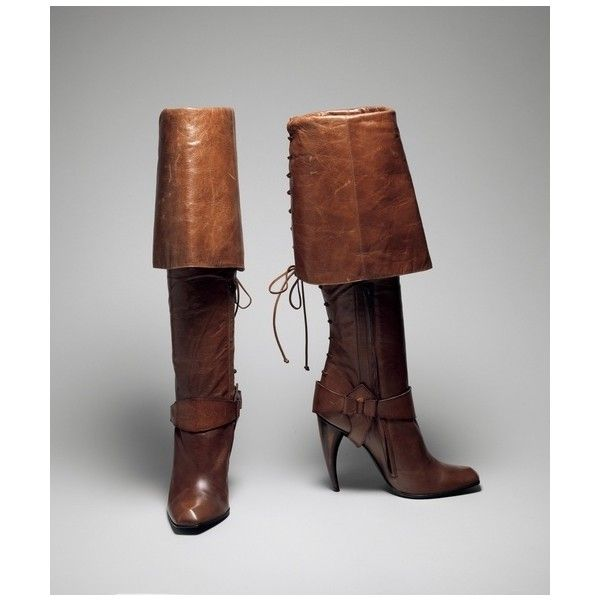 SCA / Boots   Alexander McQueen   The Costume Institute   Collection... via Polyvore