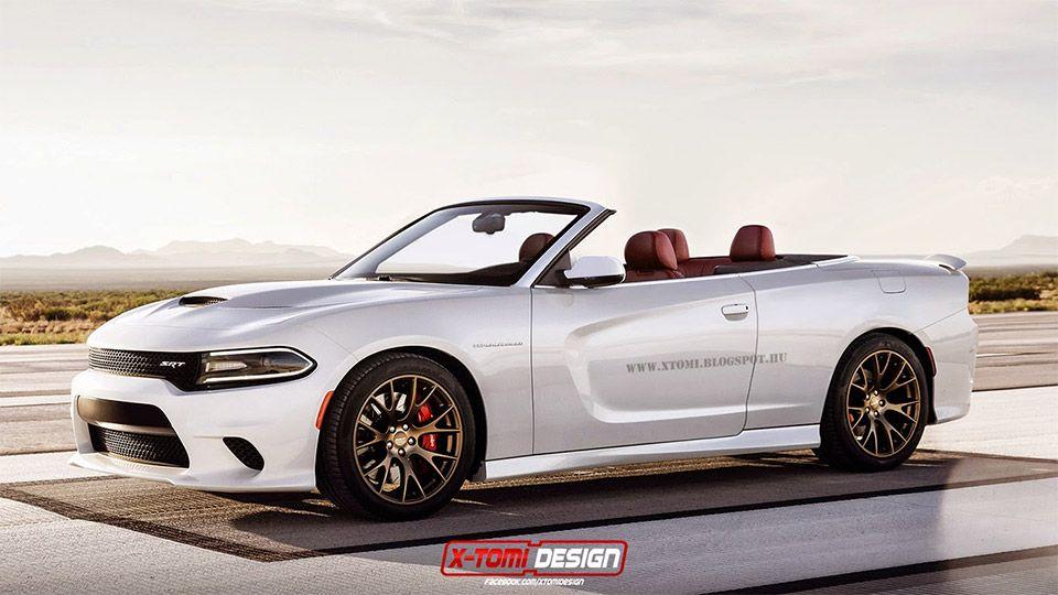 2 Door Charger Hellcat >> Dodge Charger Srt Hellcat Convertible Concept Stuff I Want