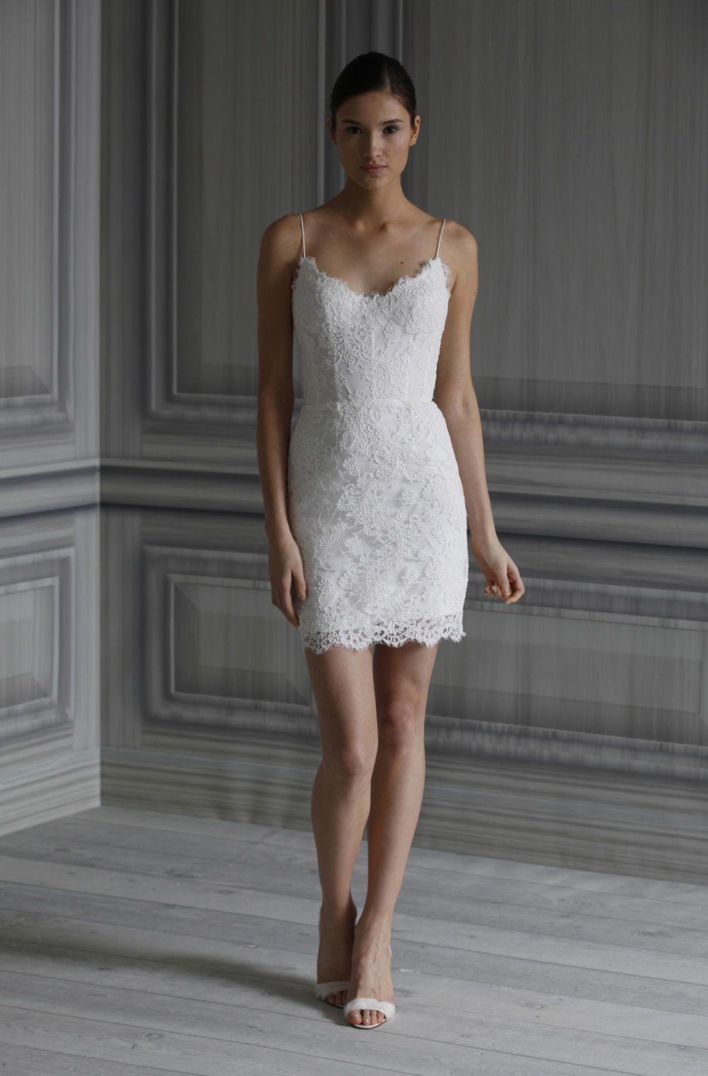 Pippa Short White Dress
