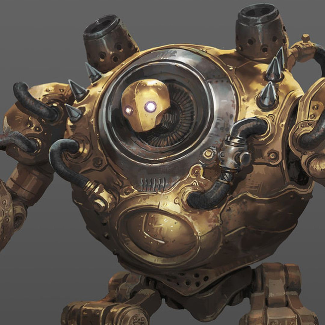 dddfef2b67a0 Concept of Blitzcrank for the recent League of Legends Season 2018 trailer.  #blitzcrank #leagueoflegends #conceptart
