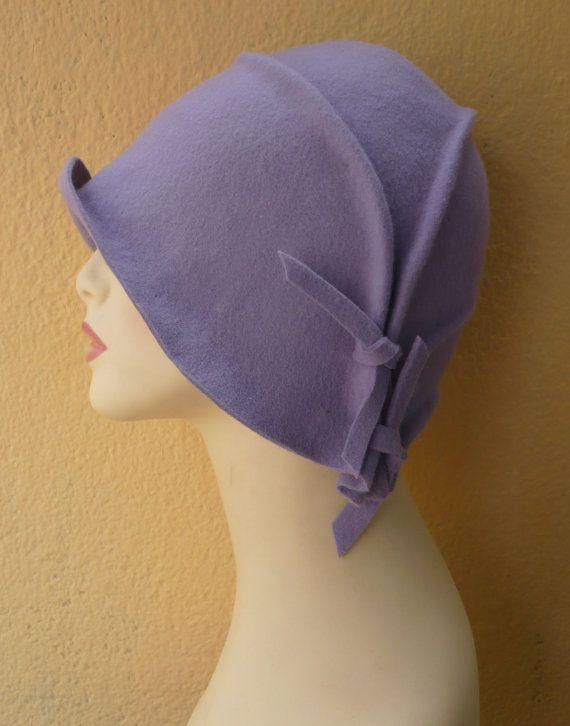 3f1bb3ad6d30d NUEVO Sombrero cloché Sombrero años 20 Sombrero por LidiaArtThings ...