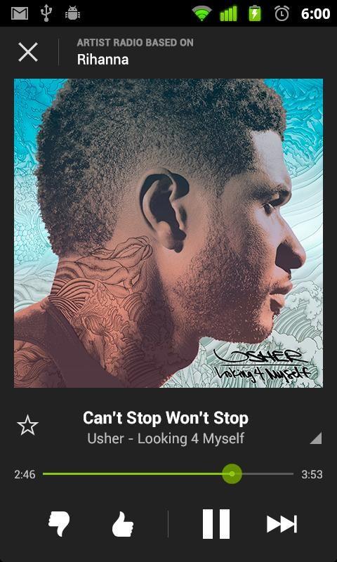 Spotify Screenshot Usher Looks Usher Raymond Usher
