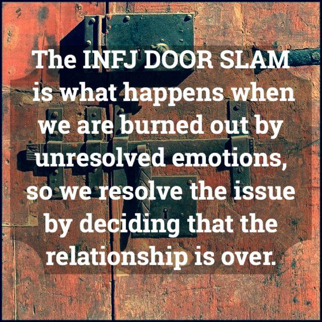 Infj Explosive Anger