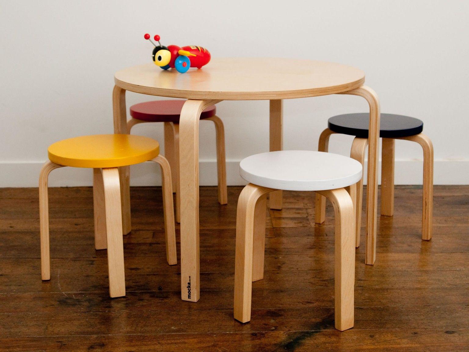 Brilliant Mocka Hudson Kids Table And Stools Coloured Toddler Room Camellatalisay Diy Chair Ideas Camellatalisaycom