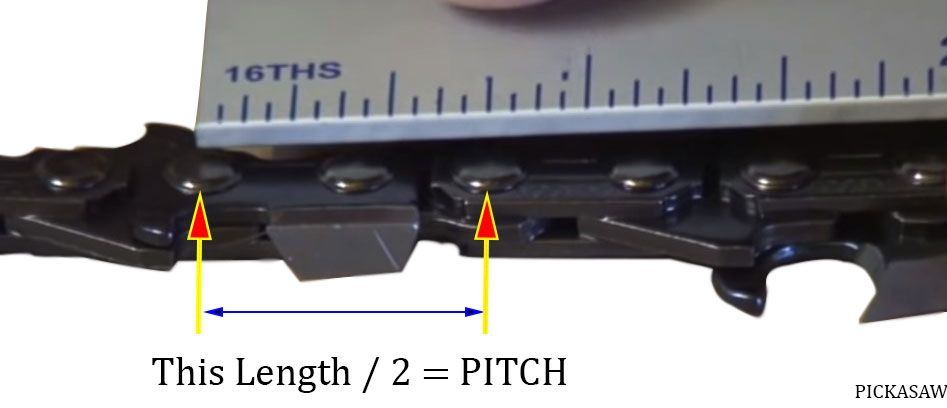 How To Measure A Chainsaw Chain 3 Easy Steps! PICK A