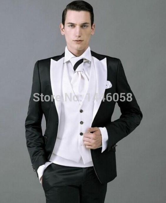 Click to Buy << 2016 Customize Made Best Selling Slim Fit Groomsman ...