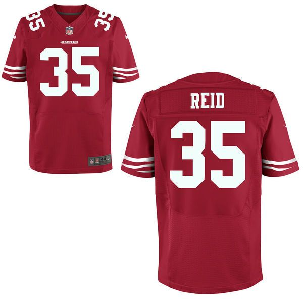 Mens Nike San Francisco 49ers 35 Eric Reid Elite Limited NFL Jerseys Red  http Eric Reid San Francisco 49ers Nike Elite Jersey - Scarlet. 9ea97b89b
