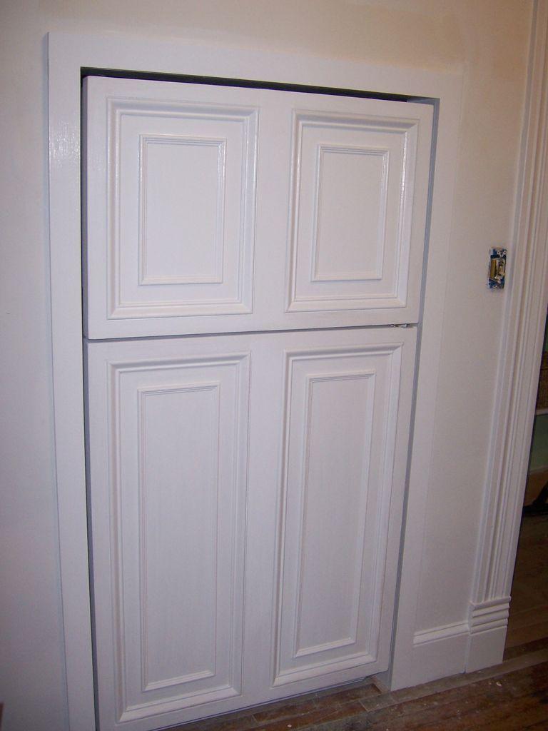 Custom Panelled Refrigerator Refrigerator Panels Modern Refrigerators Refrigerator Makeover