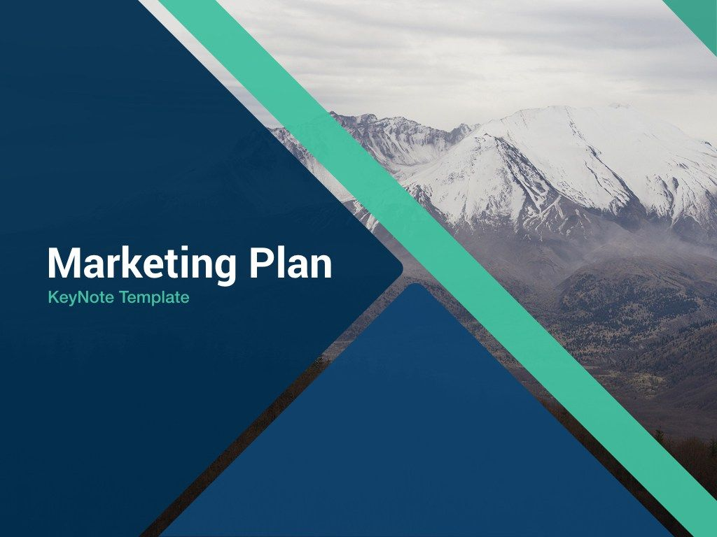 Marketing Plan Free Keynote Template  SiteMax  Design Dump