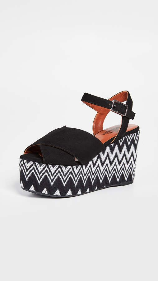 f12c645479c Castaner x Missoni Engie Wedge Sandals in 2019 | Products | Wedge ...