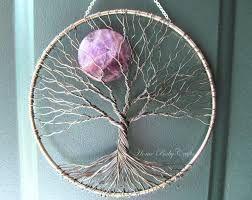 image result for tuto arbre de vie mural attrape reves. Black Bedroom Furniture Sets. Home Design Ideas