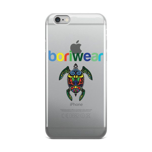 Boriwear Turtle iPhone case