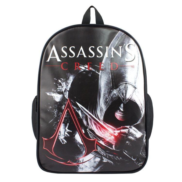 14c6296ce1 Game Assassins Creed cosplay Backpack Student Printing Boys Girls Teenagers  School Bag Shoulder Bag Canvas 2