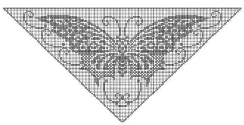 Schmetterling Filet Tuch Haken Pinterest