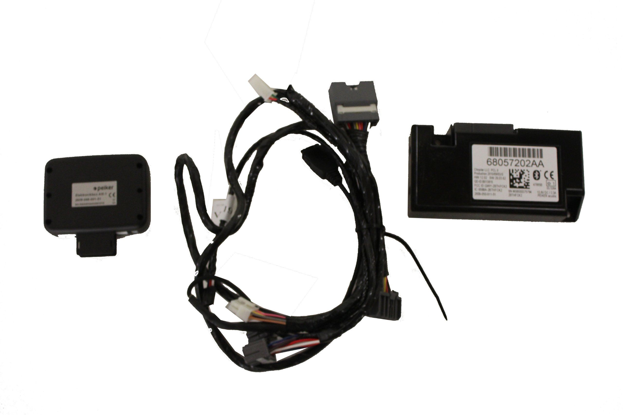 Genuine Jeep Accessories 82211755ab Uconnect Bluetooth Kit Fits
