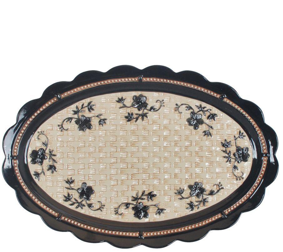 Temp-tations Floral Lace 5-Piece Concentric Bowl Set - QVC