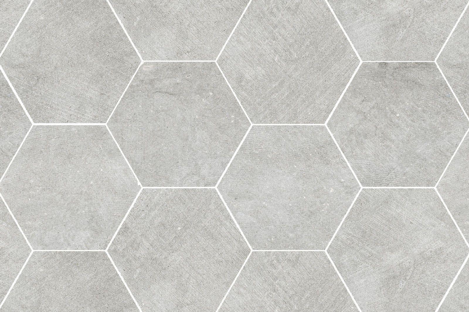 Porcelain Tile Hexagon Mosaic