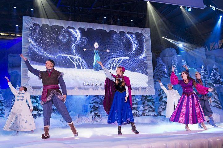 Frozen Summer Fun sing-along at Disneyland Paris