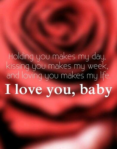 Il love you baby