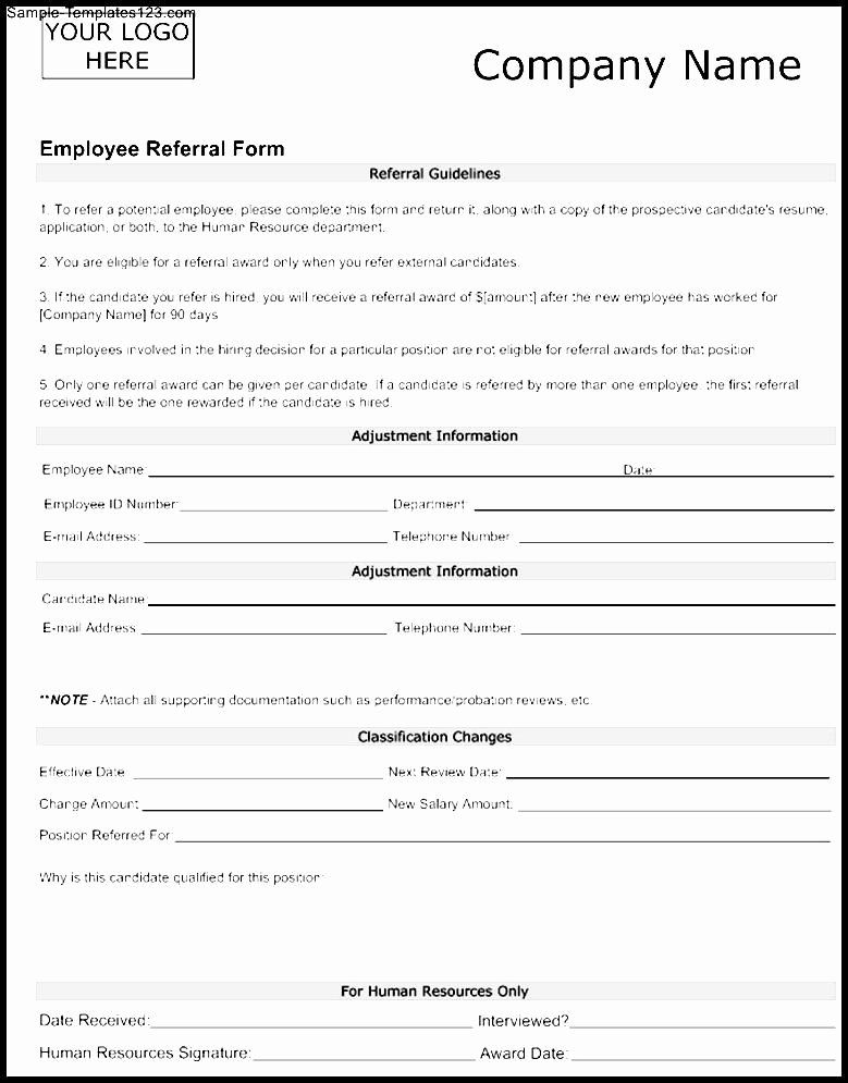Physician Referral Form Template Inspirational Medical Referral