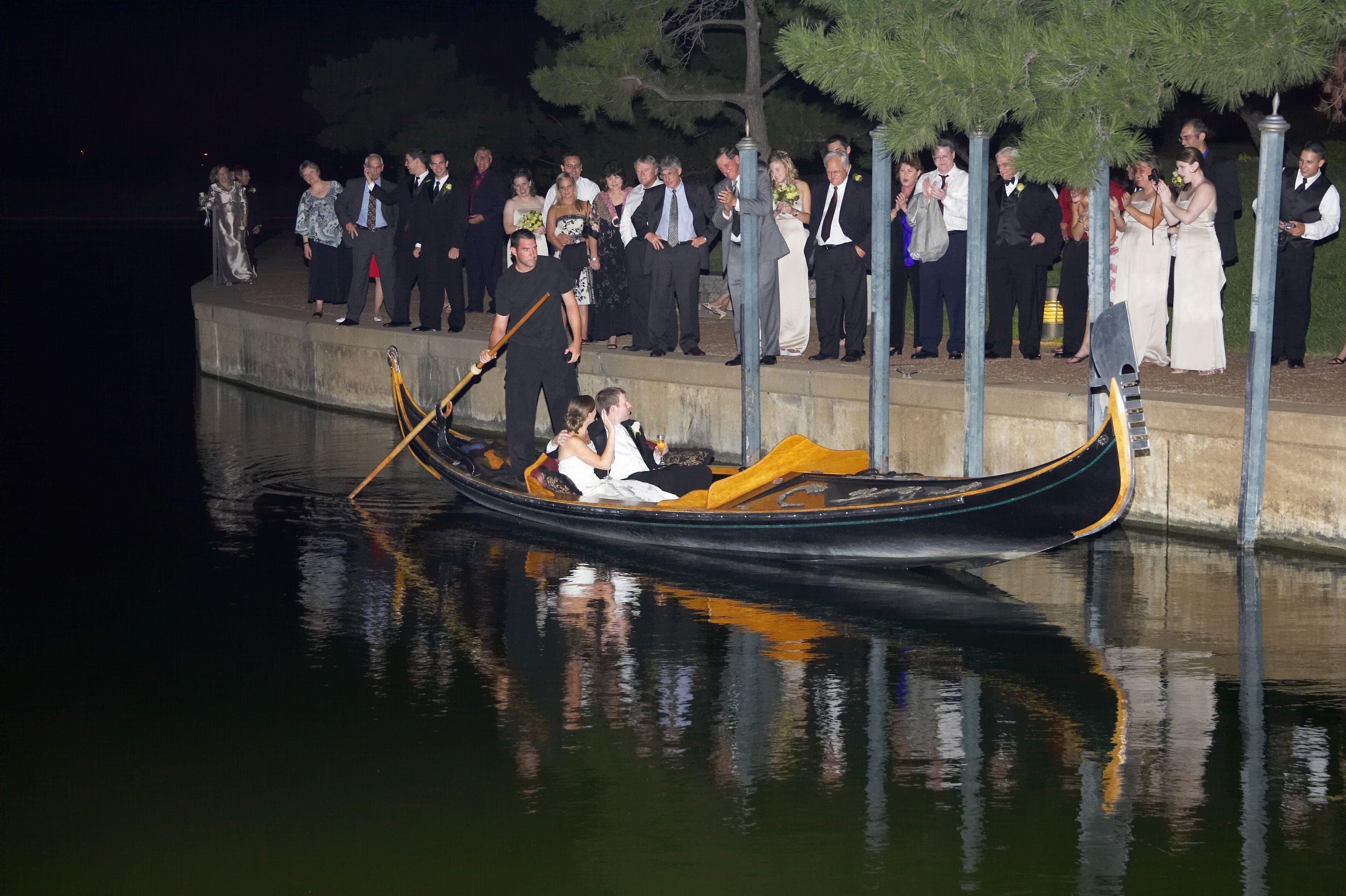 Gondola Departure From Wedding At La Cima Club In Las Colinas Photo By Cherished Memories