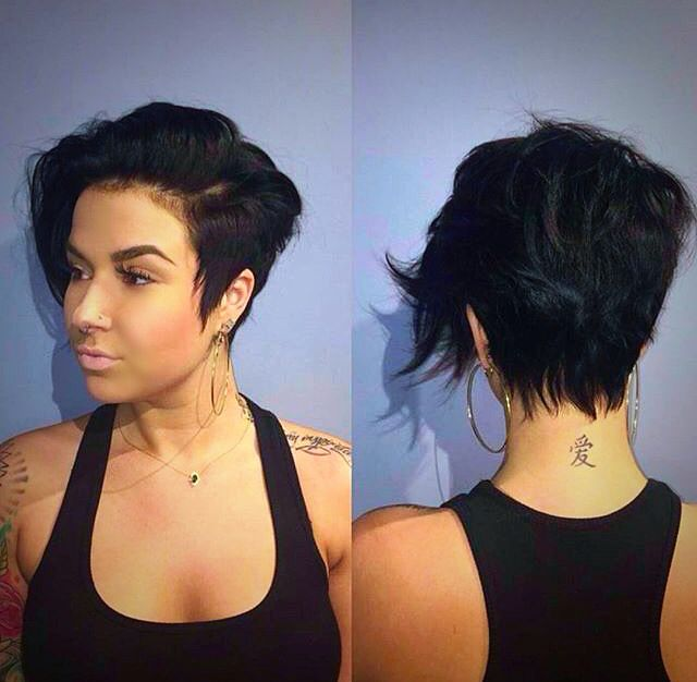 Asymmetrical Pixie Short Hairstyles For Thick Hair Thick Hair Styles Hair Styles