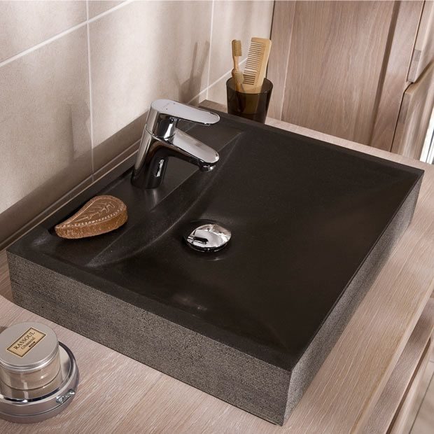 Affordable vasque dolmen les vasques poser lapeyre with for Fond de hotte inox lapeyre