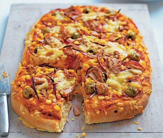 Tuna Sweetcorn Pizza