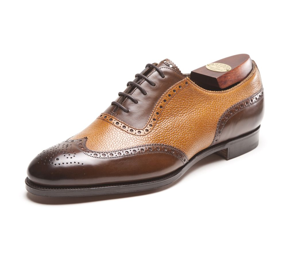 Two-toned wingtip oxford shoes for men, similar to Nucky Thompson ...