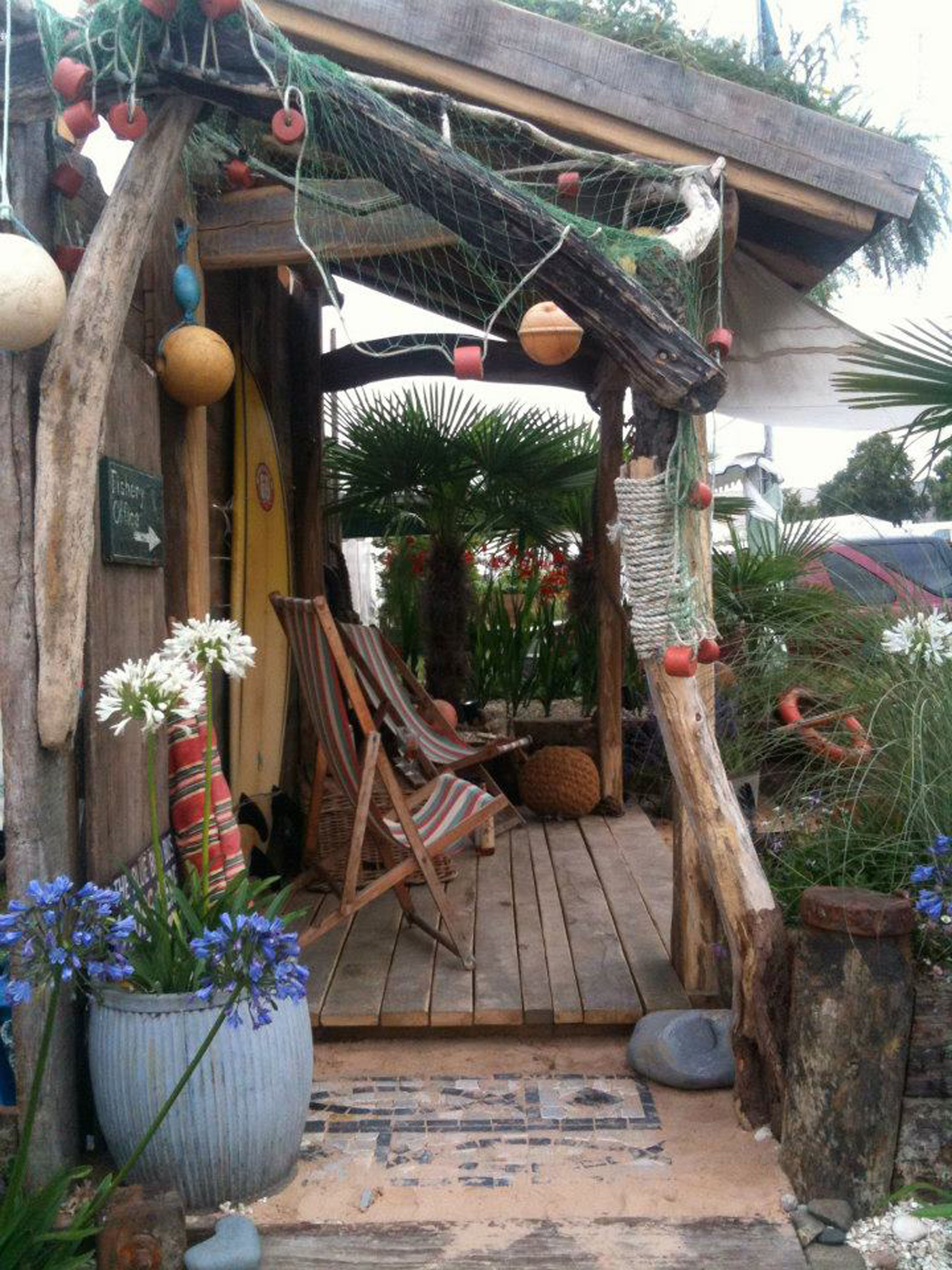 Gold Award Winning Beach Themed Show Garden For Severndale School