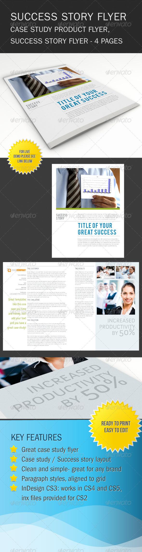 Success Story Brochure / Flyer $5 | Web Design | Pinterest ...