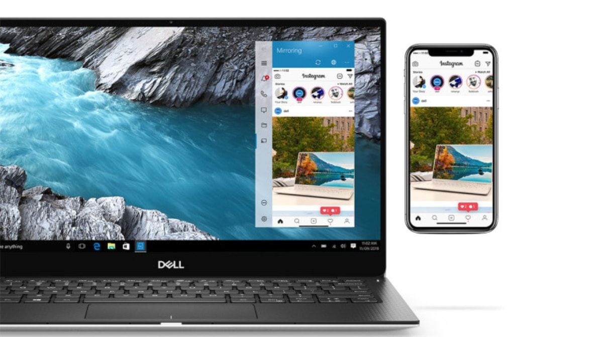 iPhone Screen Mirroring Confirmed For Windows 10 Dell PCs