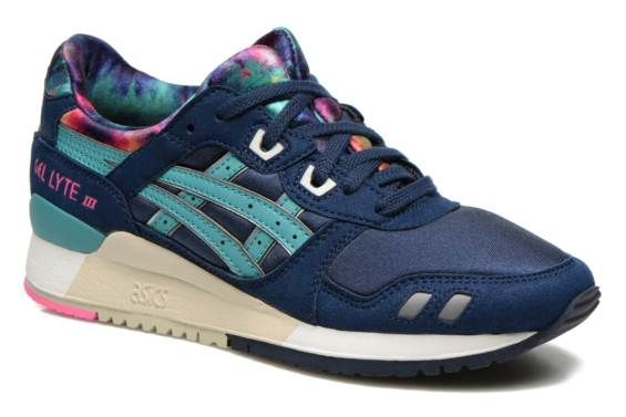 size 40 6828b 188fd Asics Gel-Lyte III W Blauw - Sneakers bij Sarenza.be (239331)