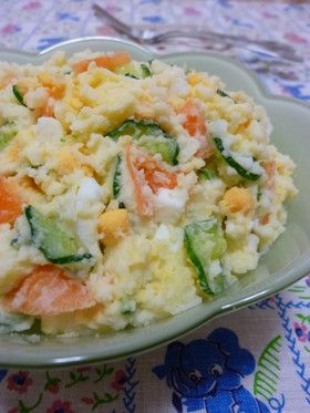 レシピ 簡単 サラダ ポテト