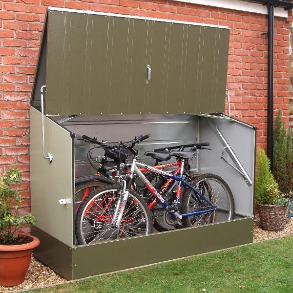 Steel Storage Sheds Bike Shed, Outdoor Storage For Bikes