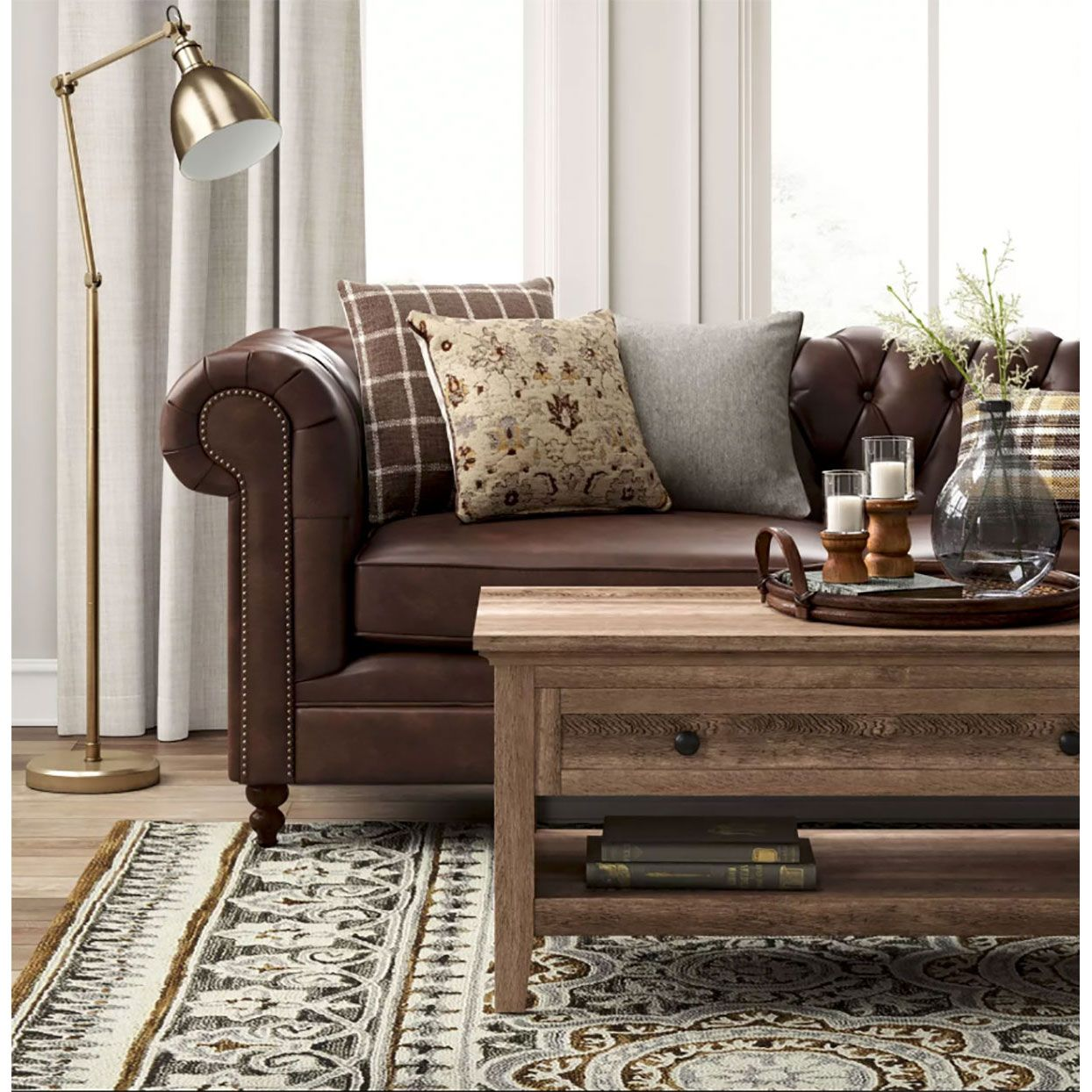 Best 9 Brown Sofas You Can Shop For Less Than 700 With Images 400 x 300