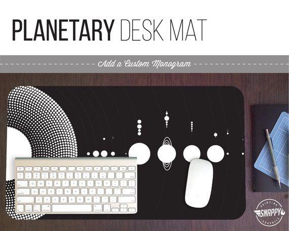 Leopard Print Pattern Desk Mat W Custom Monogram 3 Sizes Etsy Desk Mat Custom Monogram Print Patterns
