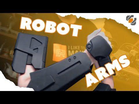 Foam Robot Arms! - Dest…   Holidays