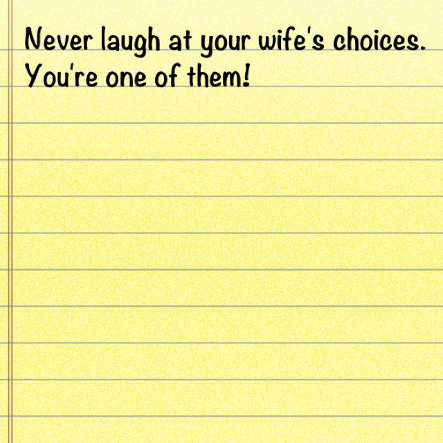 I saw this quote the other day I thought it was pretty funny - joke divorce papers