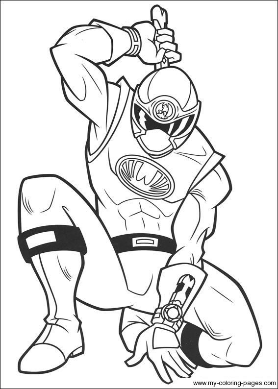 Explore Power Rangers Coloring Pages And More!